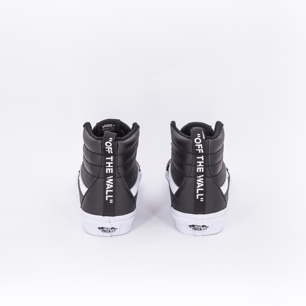 sk8 hi limited edition pelle nera vans PE2018 uomo donna
