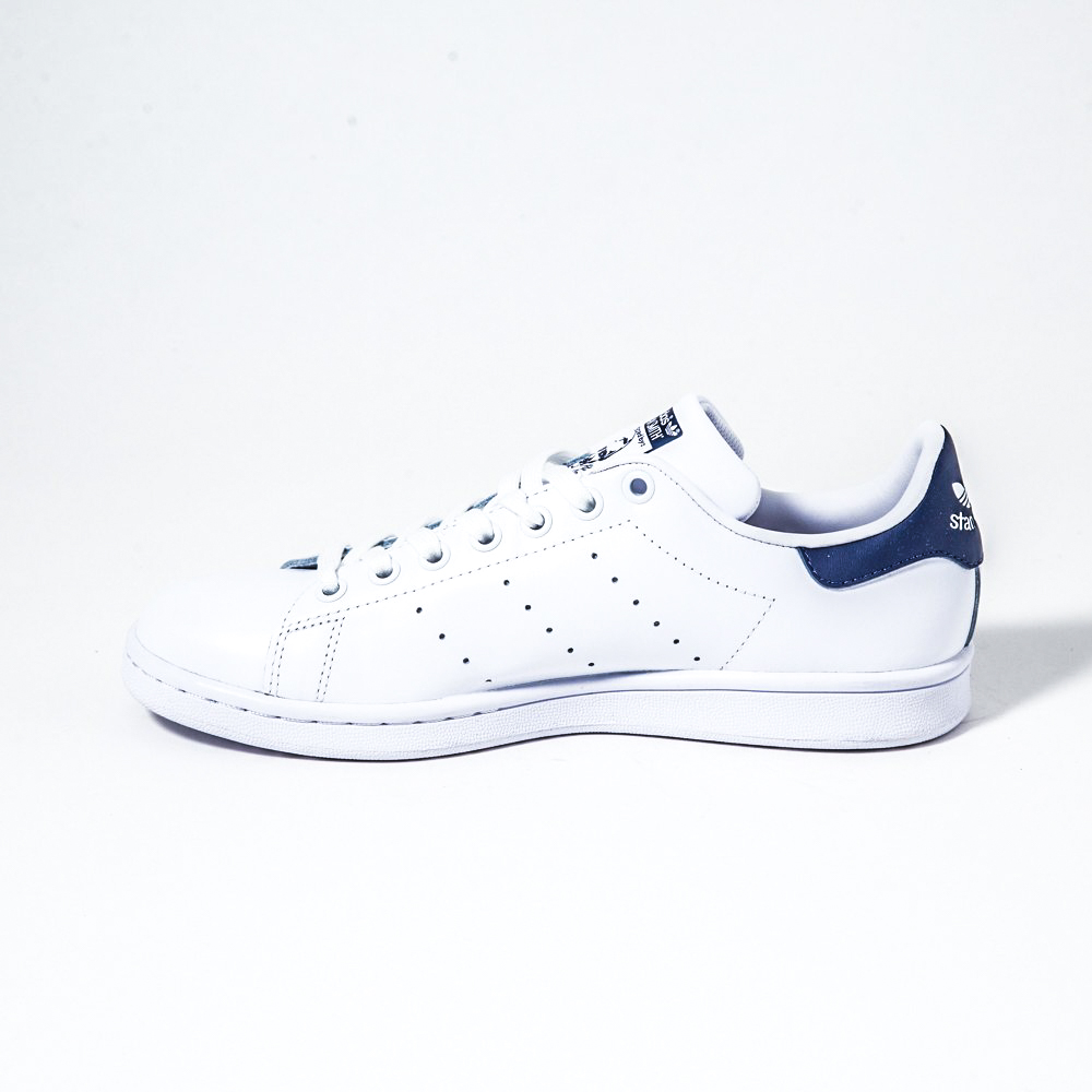 adidas pelle bianca blu